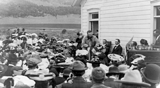 Theodore Roosevelt and the Web 2.0 World