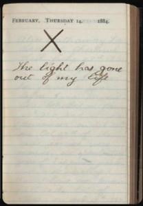 TR's diary